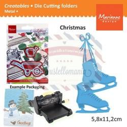 Fustella metallica Marianne Design Creatables Ice Skates
