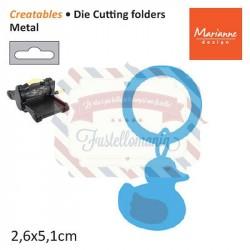 Fustella metallica Marianne Design Creatables Rattle