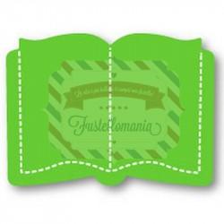 Fustella Sizzix Originals Green Open Book