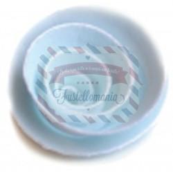 Fustella metallica Memory Box Small Pinwheel Posie
