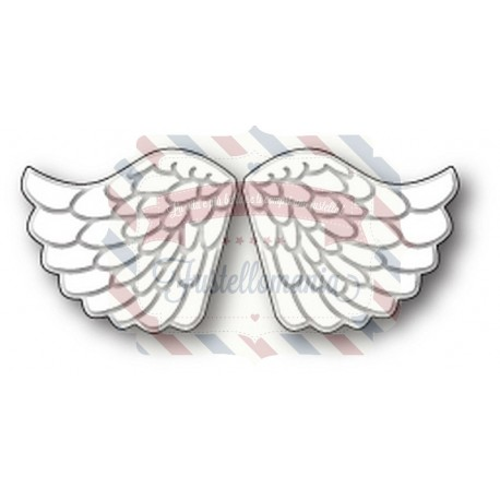 Fustella metallica Memory Box Embossed Angel Wings