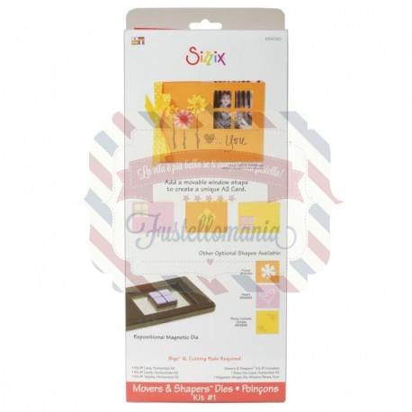 Fustella Sizzix BIGz XL Kit 1 Card Horizontal A2