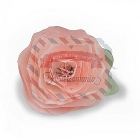 Fustella Sizzix Bigz Build a Bloom