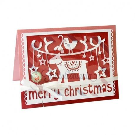 Fustella Sizzix Thinlits Merry Christmas