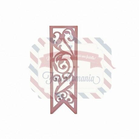 Fustella Sizzix Thinlits Fioritura decorativa