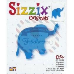 Fustella Sizzix Originals Elefante