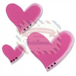 Fustella Sizzix Originals Hearts Cuori