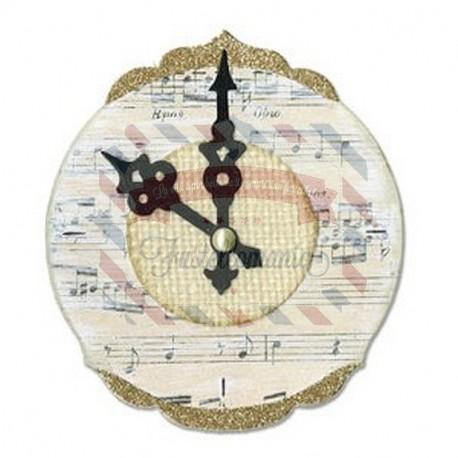 Fustella Sizzix Bigz Clock Ornate & Hands