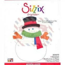 Fustella Sizzix Originals Snowman