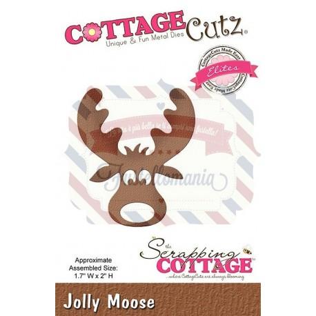 Fustella metallica Cottage Cutz Jolly Moose