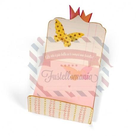 Fustella Sizzix Bigz L Notepad Cover