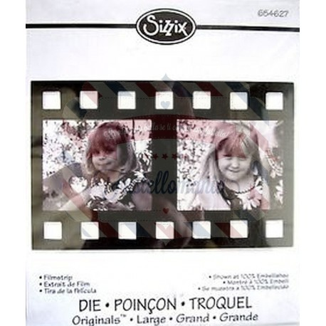 Fustella Sizzix Originals Filmstrip 2
