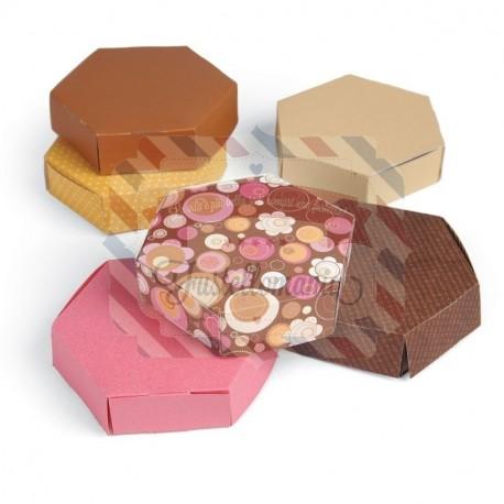 Fustella Sizzix Bigz L Hexagon Box