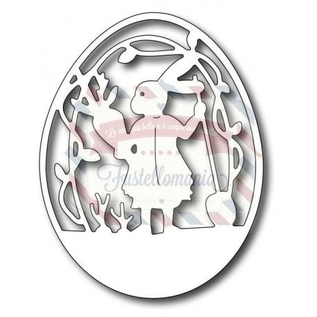 Fustella metallica Peter's Garden Egg