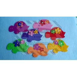 Fustella Tartaruga e fiori