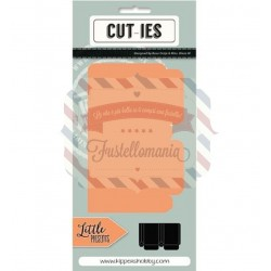 Fustella metallica CUT-IES Little Present Mini Giftbag
