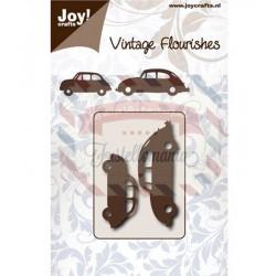Fustella metallica Joy! Crafts Vintage Flourishes 500 e Maggiolino