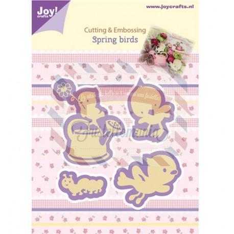 Fustella metallica Joy! Crafts Spring Birds