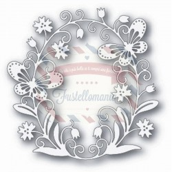 Fustella metallica Tutti Designs Butterfly Oval