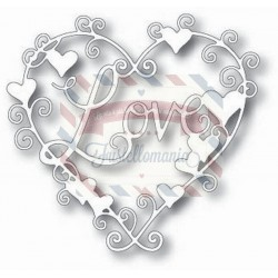 Fustella metallica Tutti Designs Love Heart