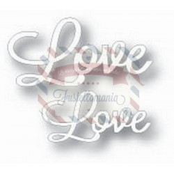 Fustella metallica Tutti Designs Word Set Love