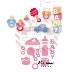 Fustella metallica Marianne Design Collectables Eline's Baby Essentials