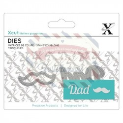 Fustella metallica Xcut Mini sentiment Dad