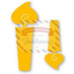 Fustella Sizzix Originals Yellow Candele