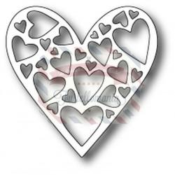 Fustella metallica Memory Box Tender Heart