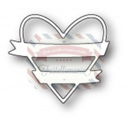 Fustella metallica Memory Box Wrapped Heart