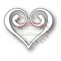 Fustella metallica Memory Box Clip Heart