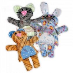 Fustella Sizzix Bigz L Bear Bunny Cat