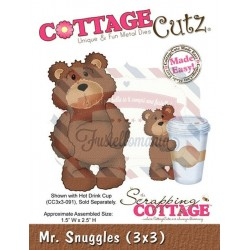 Fustella metallica Cottage Cutz Mr Snuggles