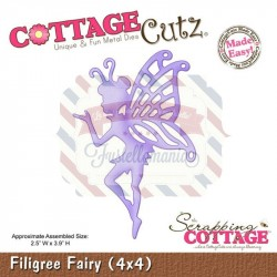 Fustella metallica Cottage Cutz Filigree Fairy