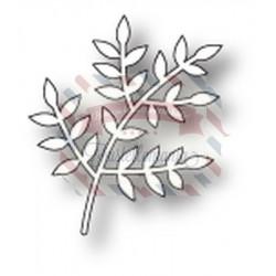 Fustella metallica PoppyStamps Leafy Sprig