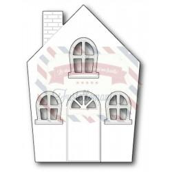 Fustella metallica PoppyStamps Cute Cottage