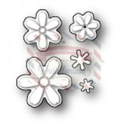 Fustella metallica PoppyStamps Daisy Cluster
