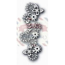 Fustella metallica Tutti Designs Butterfly Scroll