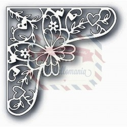 Fustella metallica Tutti Designs Butterfly Corner
