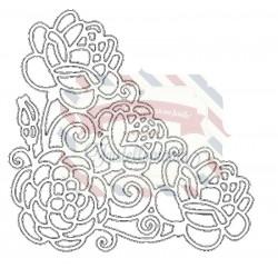 Fustella metallica Tutti Designs Rosy Corner