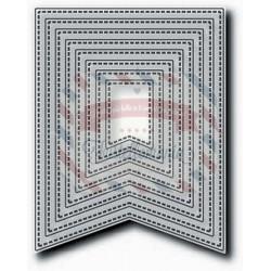 Fustella metallica Tutti Designs Nesting Stitched Banners