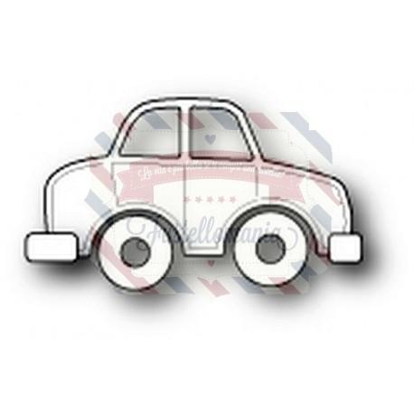 Fustella metallica PoppyStamps Family Car