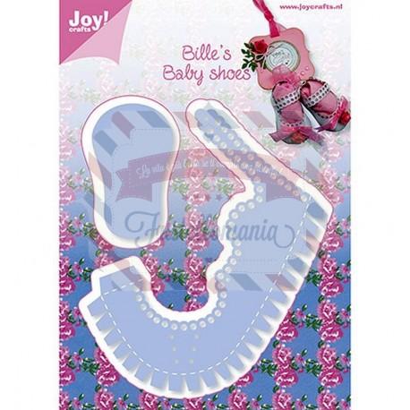 Fustella metallica Joy! Crafts Bille's Baby Shoes Girl
