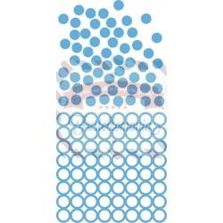 Fustella metallica Marianne Design Creatables confetti