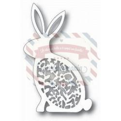 Fustella metallica Tutti Designs Floral Bunny