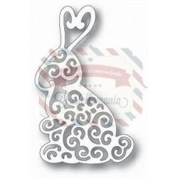 Fustella metallica Tutti Designs Scrolly Bunny