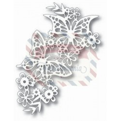Fustella metallica Tutti Designs Fluttering Butterflies