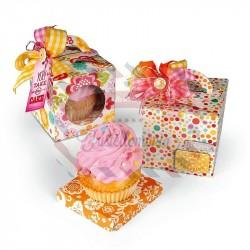 Fustella Sizzix BIGz XL Die Box Cupcake