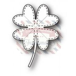 Fustella metallica PoppyStamps Lucky Clover