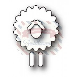 Fustella metallica PoppyStamps Simple Sheep
